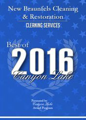new braunfels carpet cleaning award